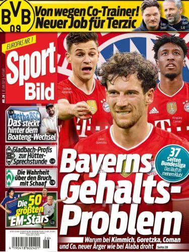 Cover: Sport Bild Magazin No 26 vom 30  Juni 2021