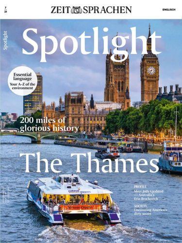 Cover: Spotlight Magazin (Einfach Englisch) No 07 2021