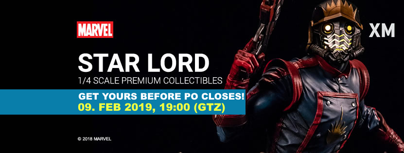 Premium Collectibles : Star Lord** Starlordfinalpos6kaz
