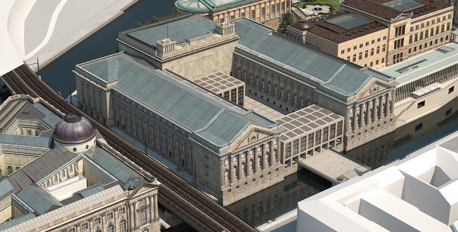 Pergamonmuseum James Simon Galerie Berliner Architektur Urbanistik