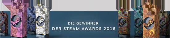 Die Gewinner der Steam-Awards 2016
