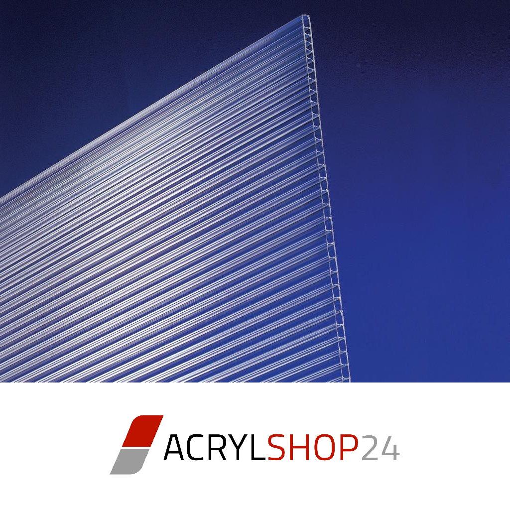 polycarbonat stegplatten doppelstegplatten hohlkammerplatten 10mm klar pc neu ebay. Black Bedroom Furniture Sets. Home Design Ideas