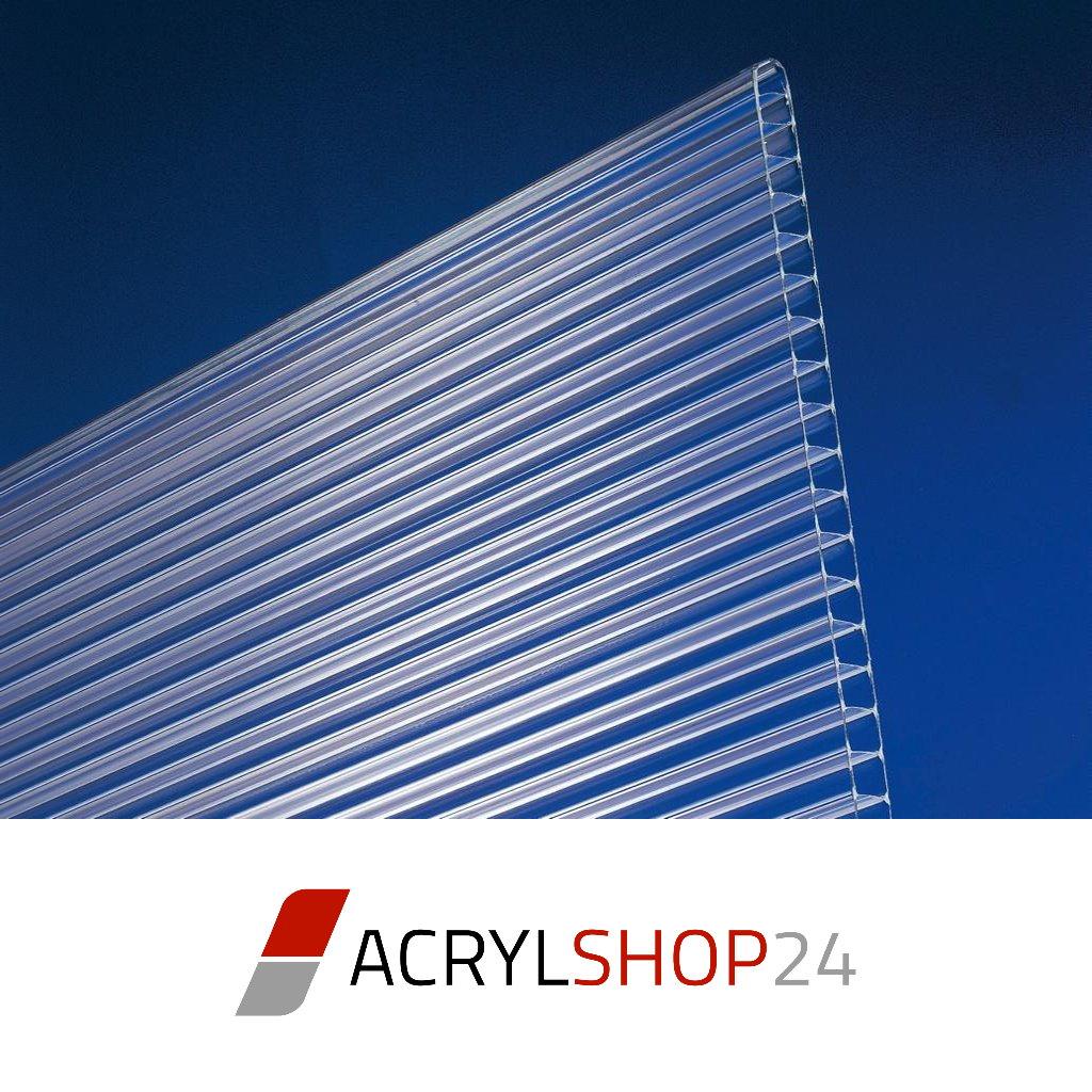 polycarbonat pc stegplatten doppelstegplatten hohlkammerplatten 10mm opal wei ebay. Black Bedroom Furniture Sets. Home Design Ideas