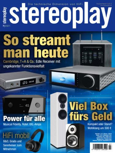 Cover: Stereoplay Magazin (Die technische Dimension von HiFi) No 07 2021