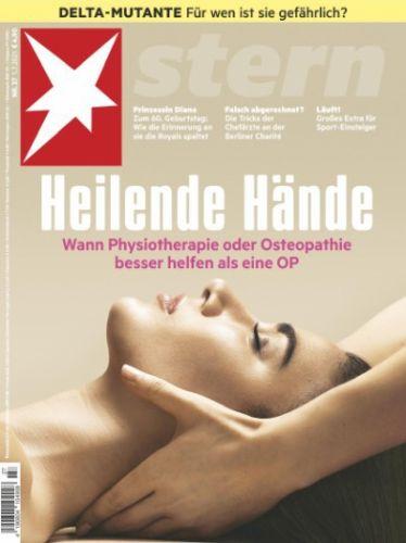 Cover: Der Stern Nachrichtenmagazin No 27 vom 30  Juni 2021