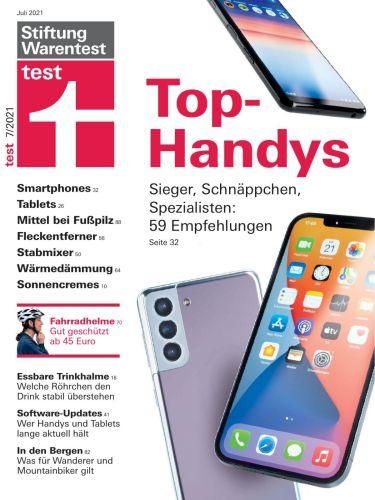 Cover: Stiftung Warentest Test-Magazin No 07 Juli 2021