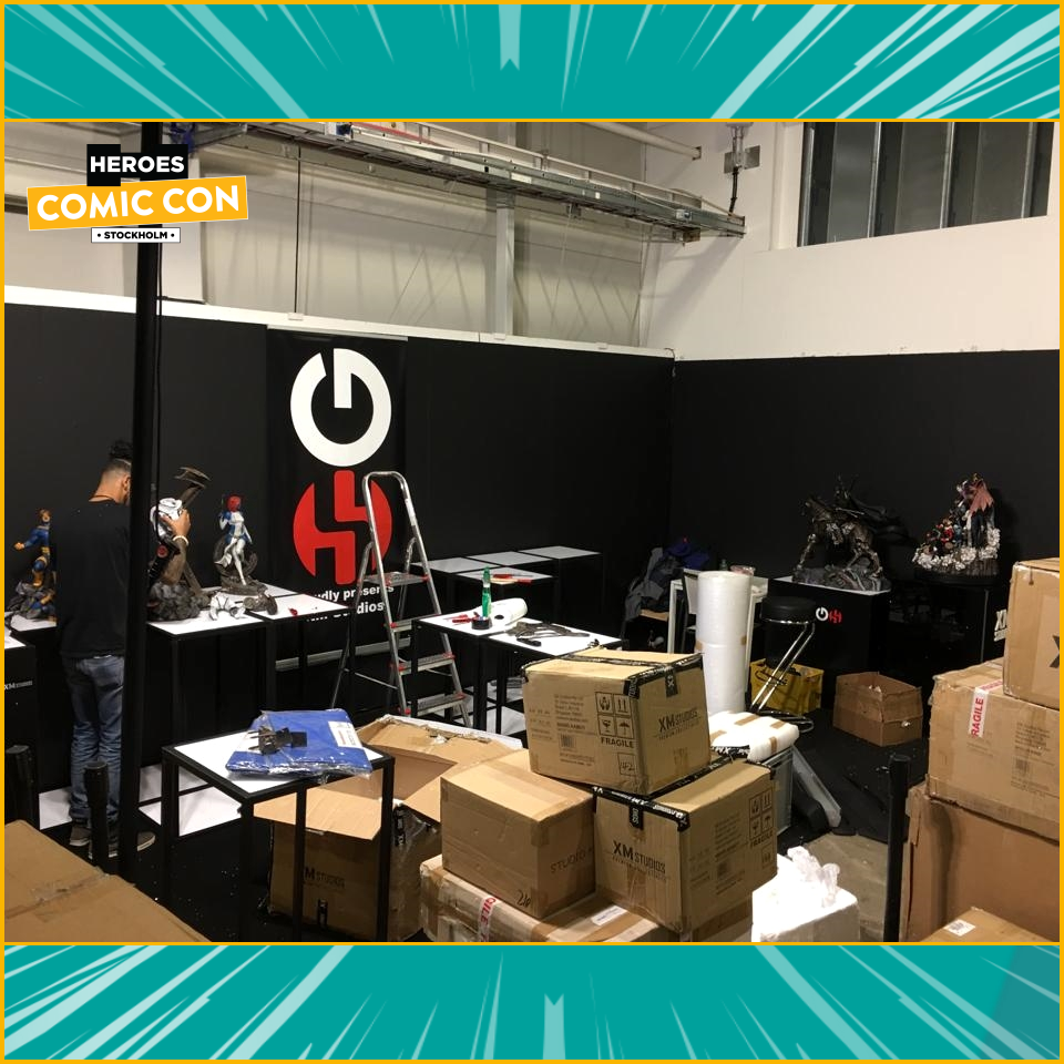 XM Studios: Coverage Comic Con Stockholm 2019 - September 13th to 15th  Stockholm960bilder3ygj65