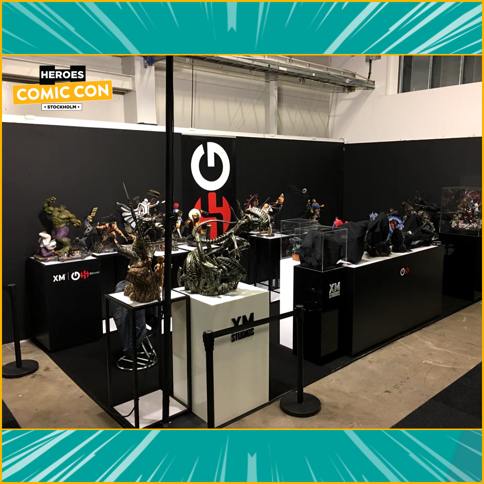 XM Studios: Coverage Comic Con Stockholm 2019 - September 13th to 15th  Stockholmtuj82