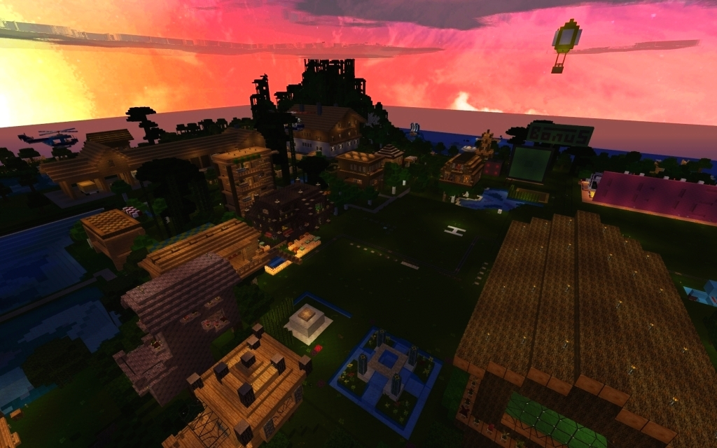 minecraft cave den map download for pc