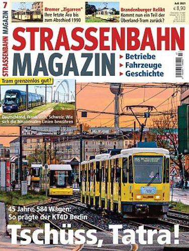 Cover: Strassenbahn Magazin No 07 Juli 2021