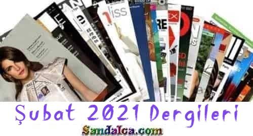 Dergi Paketi – Şubat 2021 Tüm Dergileri PDF indir