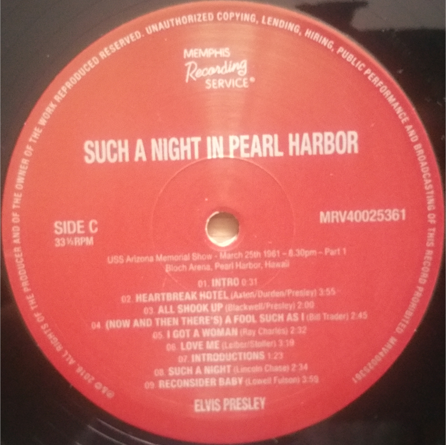 SUCH A NIGHT IN PEARL HARBOR Suchanightinpearlharb2xk9x