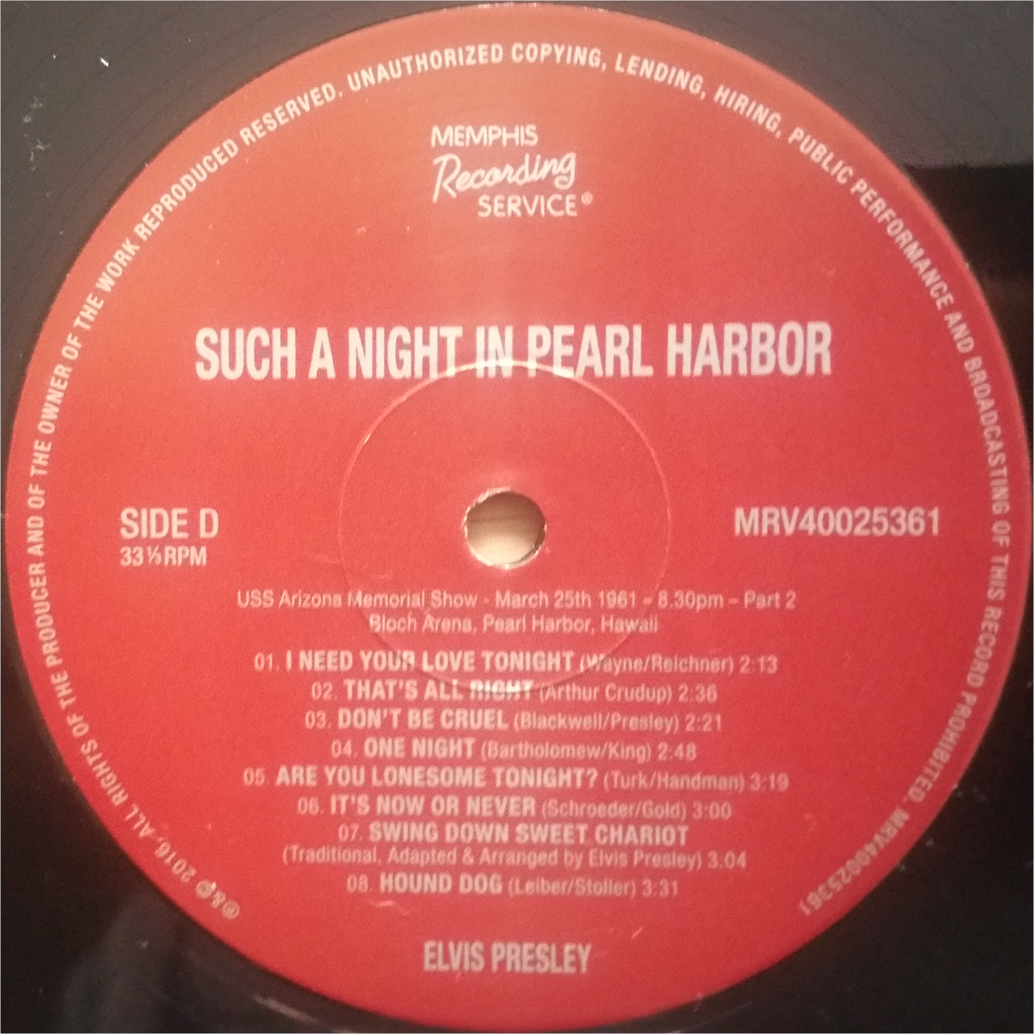 SUCH A NIGHT IN PEARL HARBOR Suchanightinpearlharbvjj9k