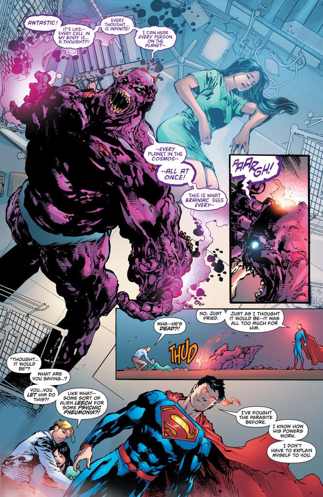 Superman Parasite >> Scans Daily Superman 27