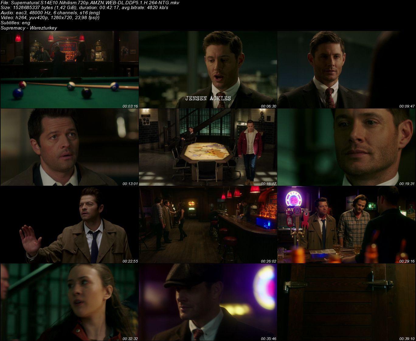 Supernatural - Sezon 14 - 720p HDTV - Türkçe Altyazılı
