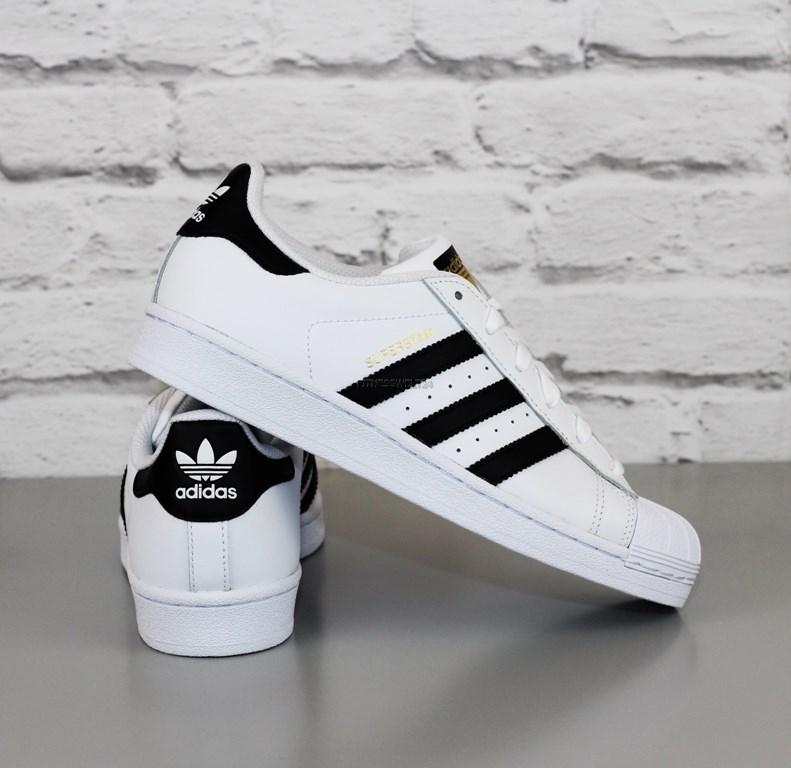 b24a1d76fbf Adidas C77154 Superstar Originals J pelle Scarpe da Ginnastica ...