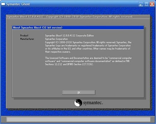 download Symantec Ghost Boot CD v12.0.0.10618 (x64)