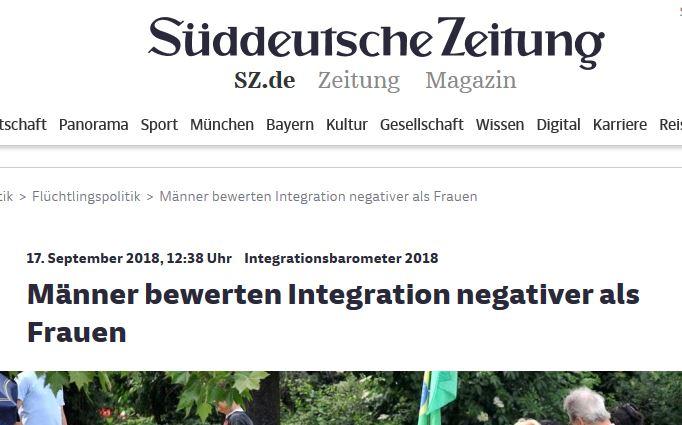 Schlagzeile Süddeutsche Zeitung
