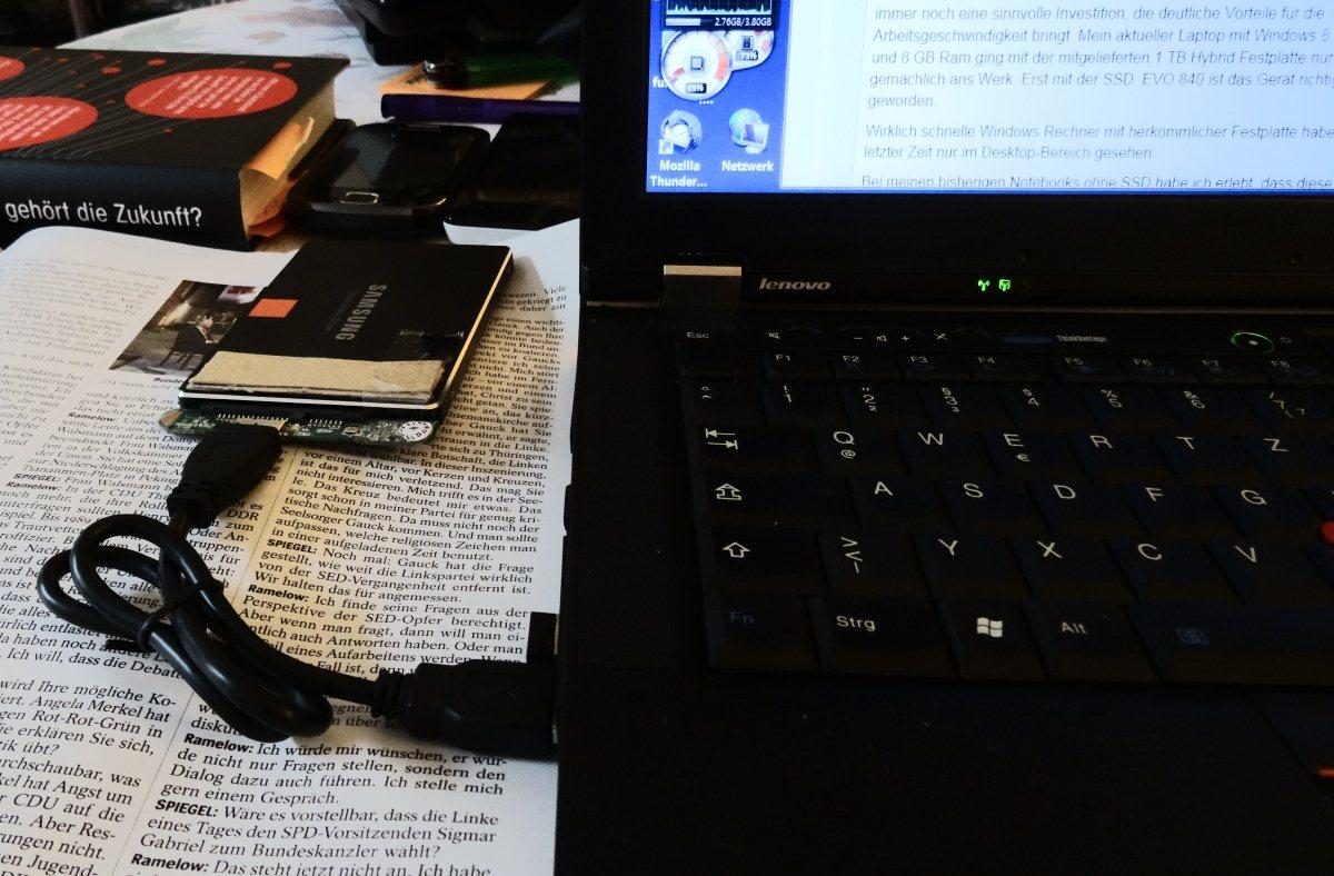 welche ssd hat mein notebook