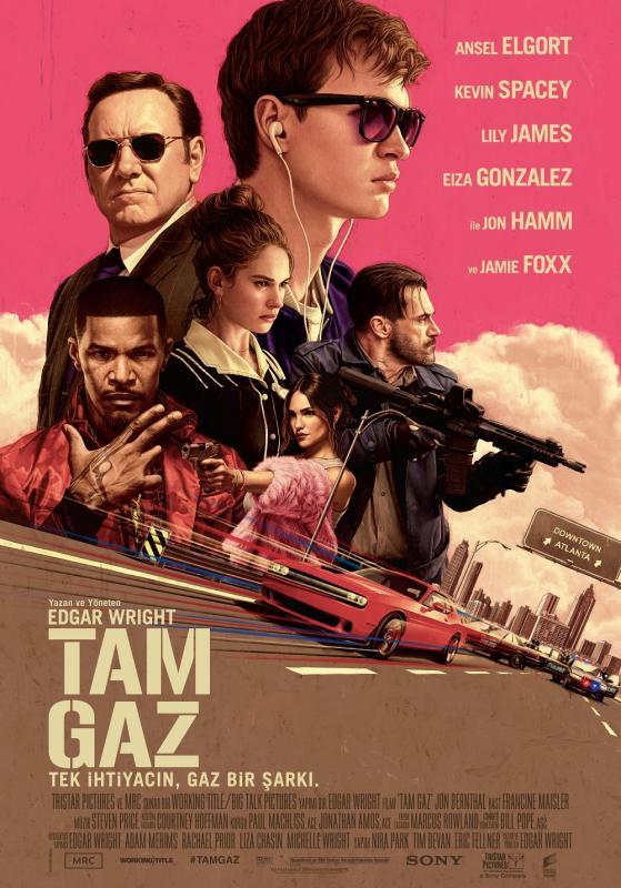 Tam Gaz – Baby Driver (2017) Film İndir