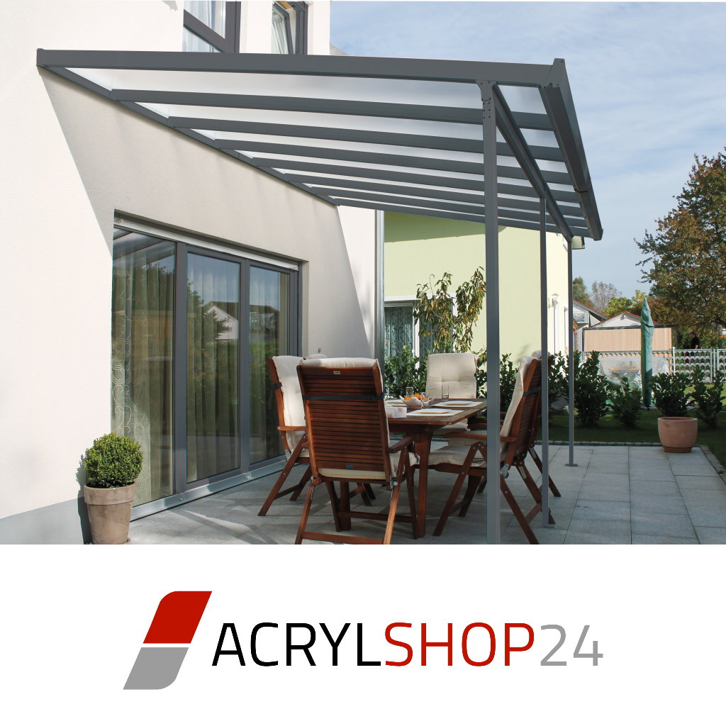 terrassen berdachung terrassendach carport berdachung 3x3m wei aluminium pc ebay. Black Bedroom Furniture Sets. Home Design Ideas