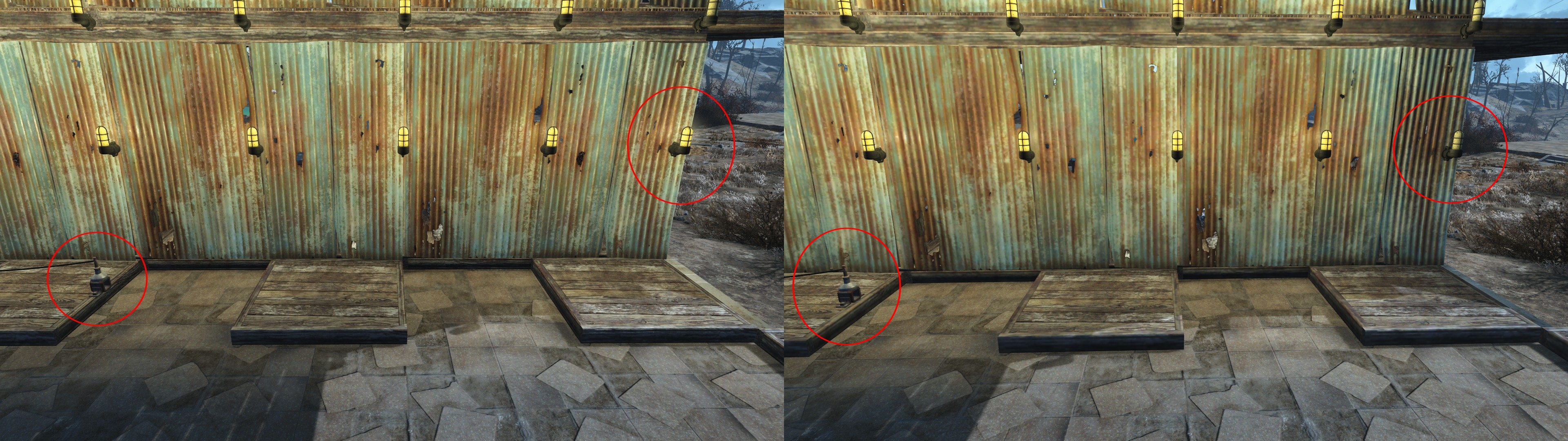 fallout 4 how to stop wall snapping building