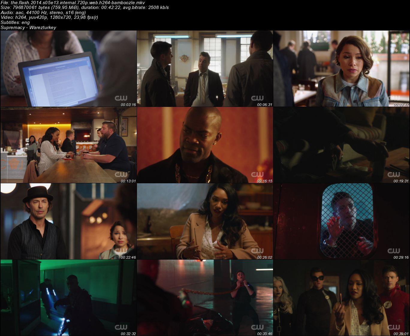 The Flash - Sezon 5 - 720p HDTV - Türkçe Altyazılı
