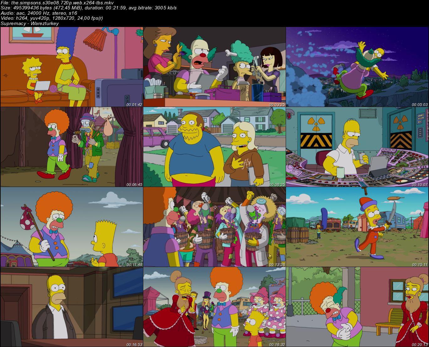 The Simpsons - Sezon 30 - 720p HDTV - Türkçe Altyazılı