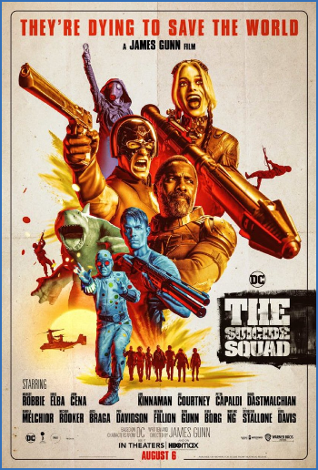 The Suicide Squad 2021 720p BlurRay X264-WOAT