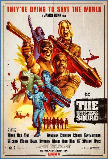 The Suicide Squad 2021 BRRip XviD AC3-EVO