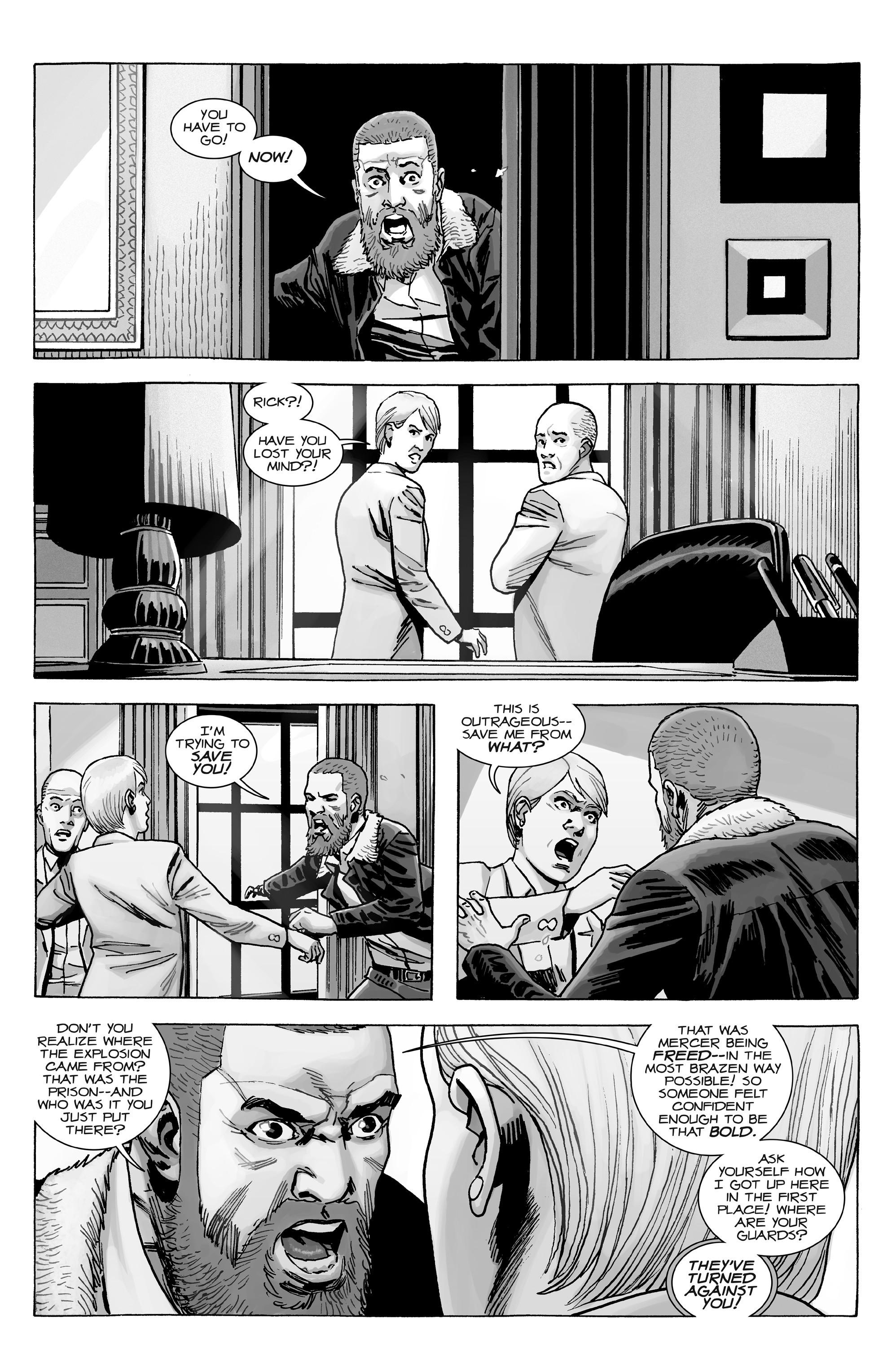 The walking dead comic scans