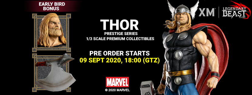 Premium Collectibles : Thor 1/3 Thorfacebookbanner27jz7