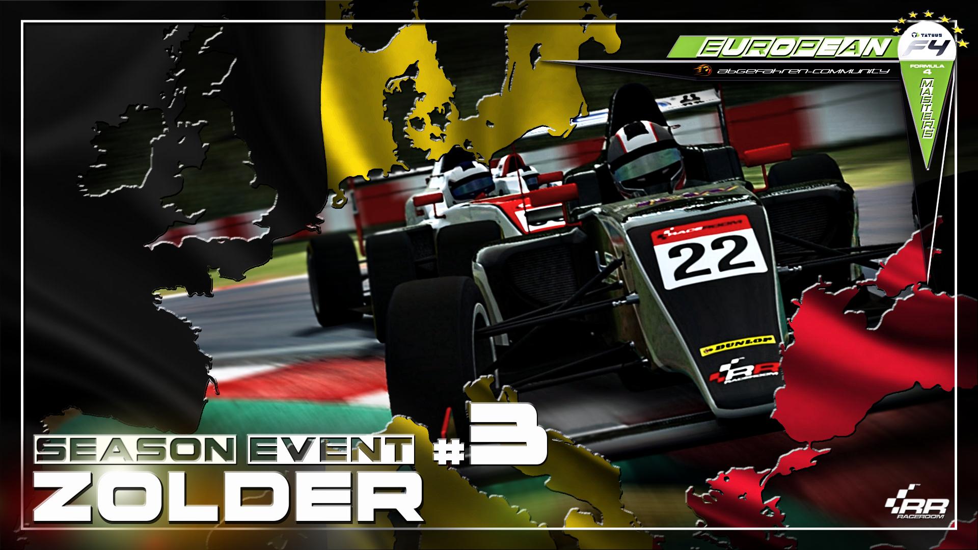 European Formula 4 Masters [EF4M] Season Event #3 | Zolder