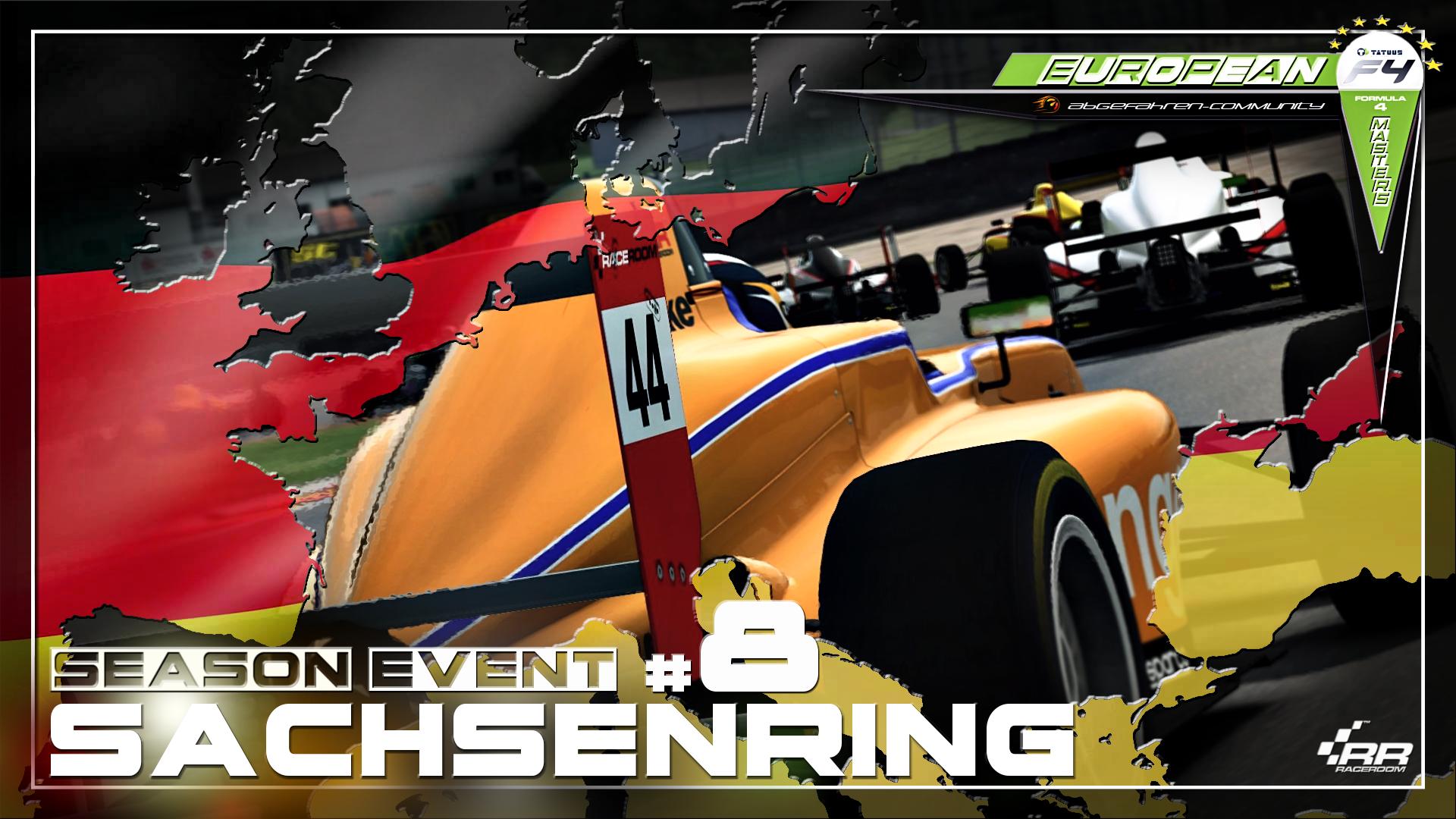 R3E - [EF4M] Season Event #8 | Sachsenring