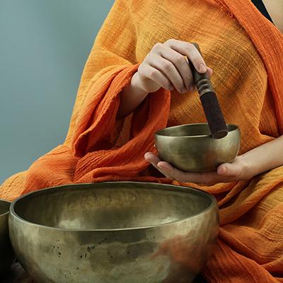 Tibetanische Klangschalen