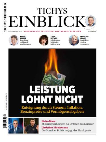 Cover: Tichys Einblick Magazin No 07 2021