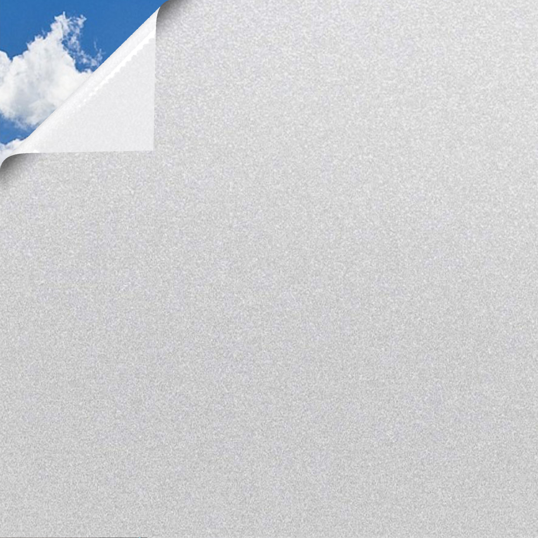 5 55 M Fensterfolie Sichtschutzfolie Milchglasfolie Statische