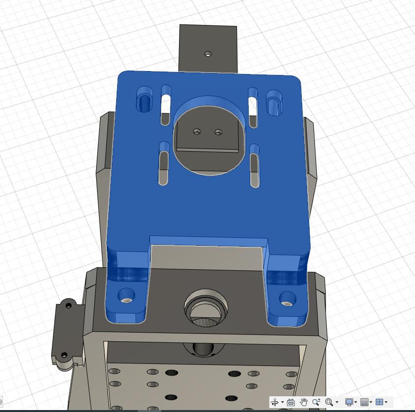 CNC Z-Achse Nema23