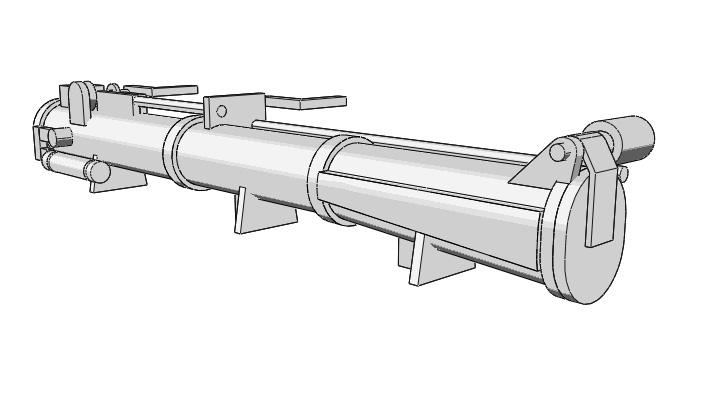 Schnellboote Série S7-S13 de la Reichsmarine 1:250 Torpedorohr-0107jvu