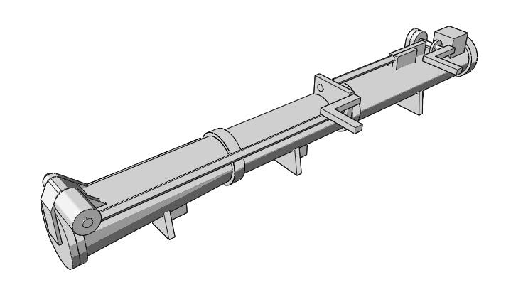 Schnellboote Série S7-S13 de la Reichsmarine 1:250 Torpedorohr-02g9j3p