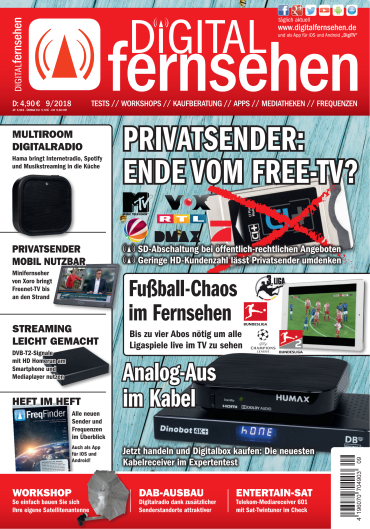Digital Fernsehen Magazin September No 09 2018