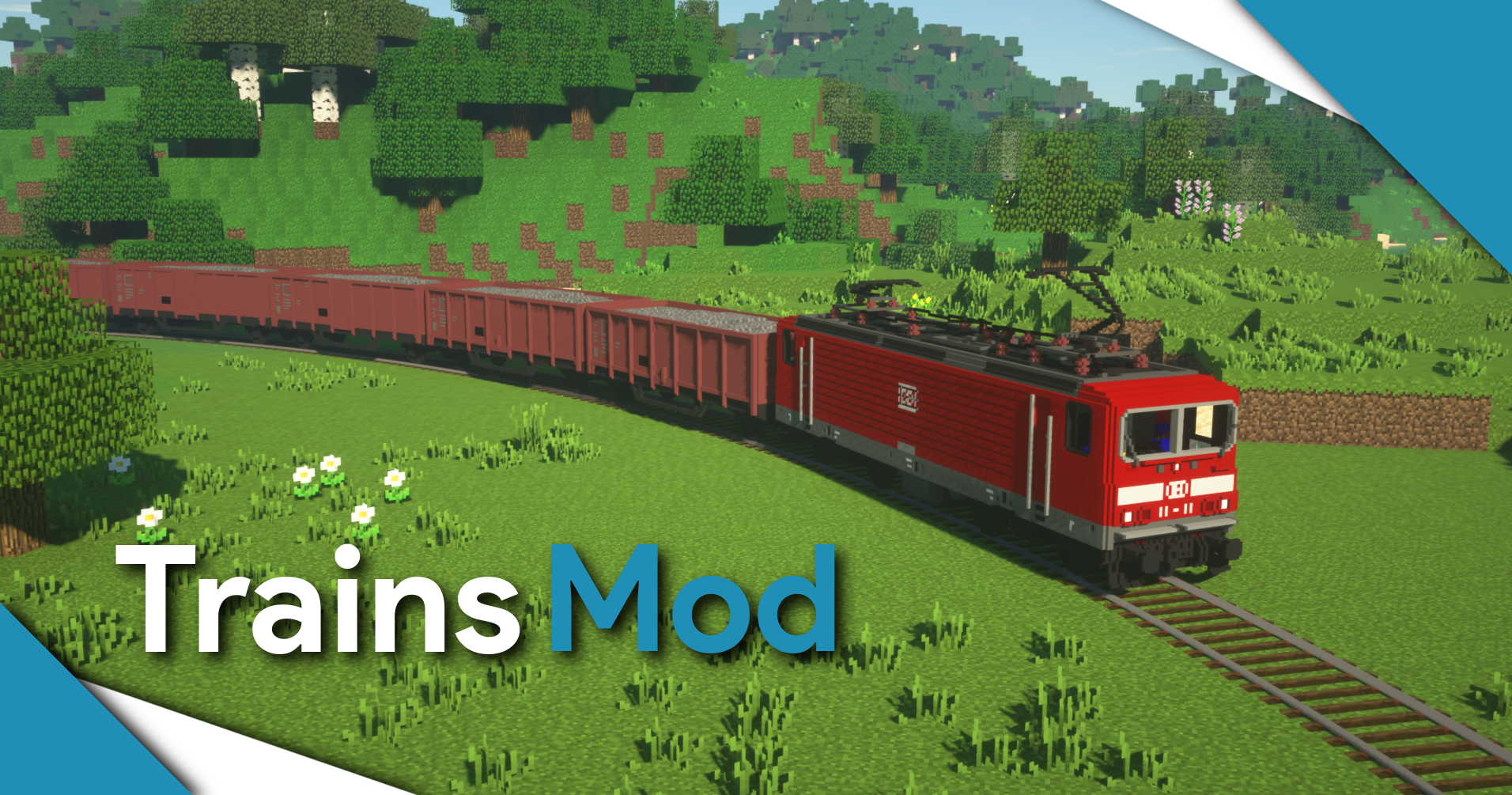 Trains Mod - Mods - Minecraft - CurseForge