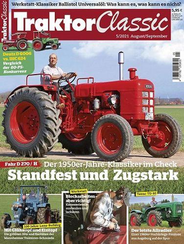 Cover: Traktor Classic Magazin No 05 August-September 2021