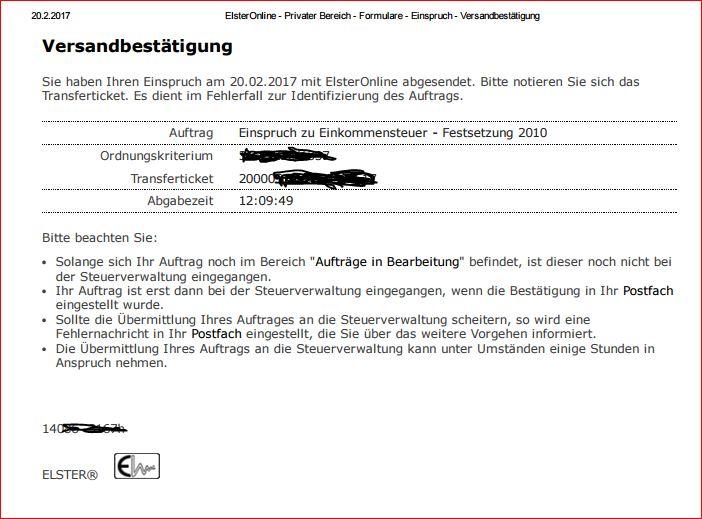 einkommenssteuererklärung 2017 formulare