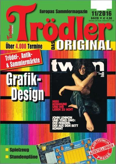 : Trödler Das Orginal - No 11.2016