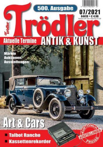 Cover: Trödler Original Magazin No 07 2021