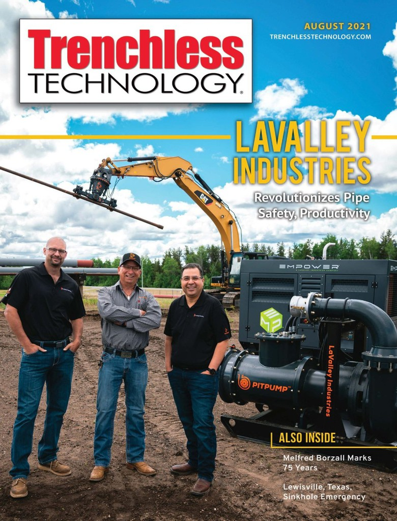 Trenchless Technology - August 2021