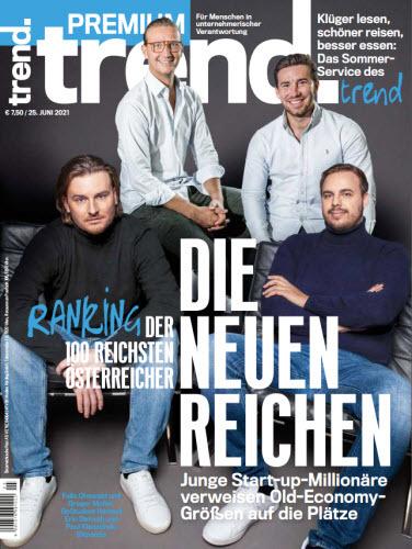 Cover: Trend Wirtschaftsmagazin No 25 vom 25  Juni 2021