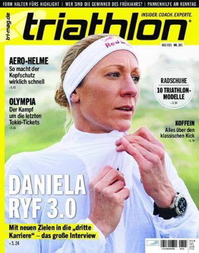 Cover: Triathlon Magazin No 191 Juli 2021