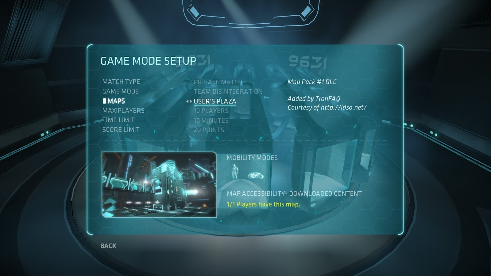 Tron-Sector: Forums (I/O Tower)